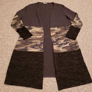 a.gain long sweater cartigan
